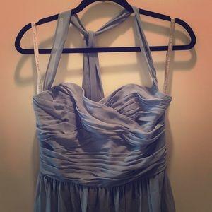 Alfred Angelo size 8 Cornflower Blue Gown